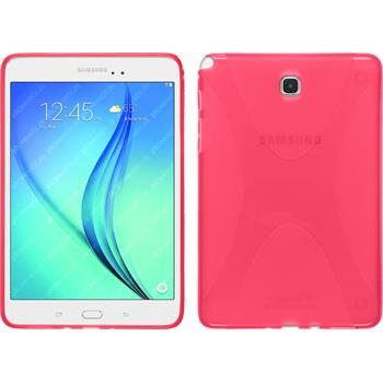 Silikonhülle für Samsung Galaxy Tab A 8.0 X-Style pink