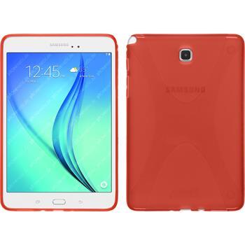 Silikon Hülle Galaxy Tab A 8.0 X-Style rot