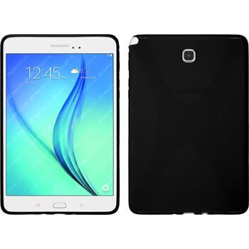 Silikonhülle für Samsung Galaxy Tab A 8.0 X-Style schwarz