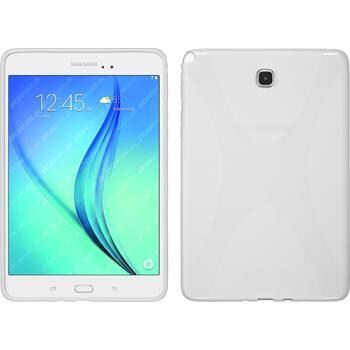 Silikon Hülle Galaxy Tab A 8.0 X-Style weiß