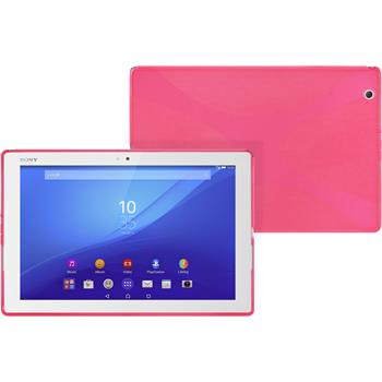 Silikon Hülle Xperia Tablet Z4 X-Style pink