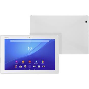 Silikon Hülle Xperia Tablet Z4 X-Style weiß