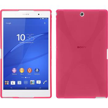 Silikon Hülle Xperia Z3 Tablet Compact X-Style pink