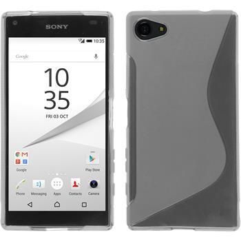 Silikonhülle für Sony Xperia Z5 Compact S-Style clear