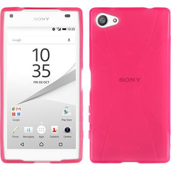 Silikon Hülle Xperia Z5 Compact X-Style pink