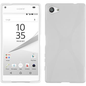 Silikon Hülle Xperia Z5 Compact X-Style weiß