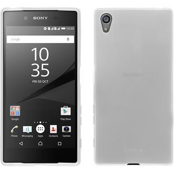 Silikonhülle für Sony Xperia Z5 transparent weiß