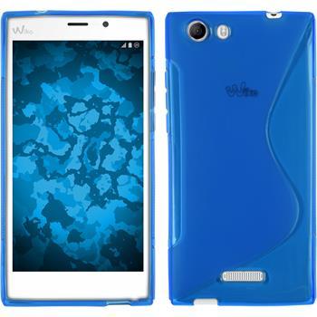 Silikon Hülle Ridge Fab 4G S-Style blau