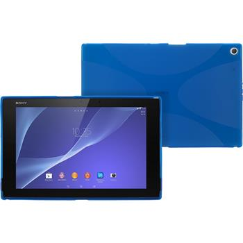 Silicone Case for Sony Xperia Tablet Z2 X-Style blue