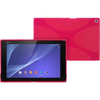 Silicone Case for Sony Xperia Tablet Z2 X-Style hot pink