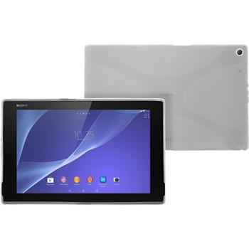 Silikon Hülle Xperia Tablet Z2 X-Style clear