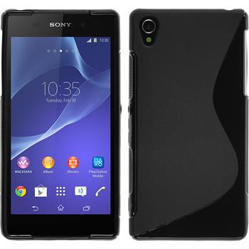 Silicone Case for Sony Xperia Z2 S-Style black