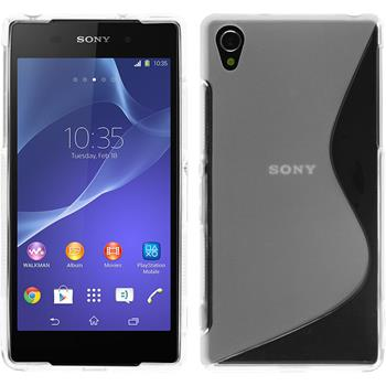 Silicone Case for Sony Xperia Z2 S-Style transparent