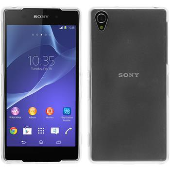 Silicone Case for Sony Xperia Z2 transparent white