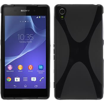 Silicone Case for Sony Xperia Z2 X-Style black
