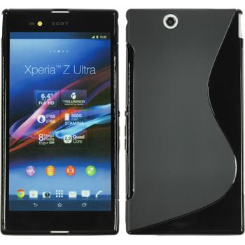 Silicone Case for Sony Xperia Z Ultra S-Style black
