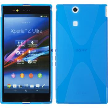 Silicone Case for Sony Xperia Z Ultra X-Style blue