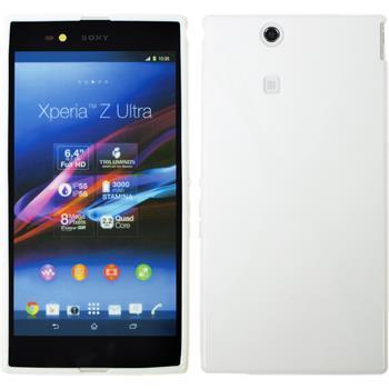 Silikon Hülle Xperia Z Ultra X-Style weiß