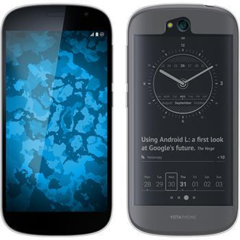 Silikonhülle für Yota Yotaphone 2 transparent Crystal Clear
