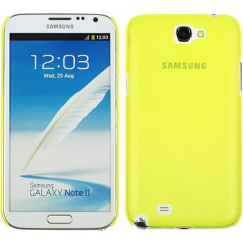 Hardcase for Samsung Galaxy Note 2  yellow