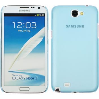 Hardcase Galaxy Note 2  hellblau + 2 Schutzfolien
