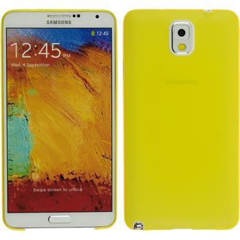 Hardcase Galaxy Note 3 Slimcase gelb