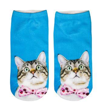 cosey - 1 Pair Men's and women's Sneaker Socks - in Galaxy Design