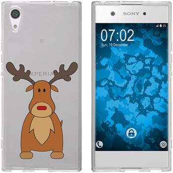 Sony Xperia XA1 Ultra Silicone Case Christmas X Mas M3