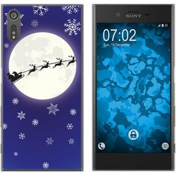Sony Xperia XZ Silicone Case Christmas X Mas M4
