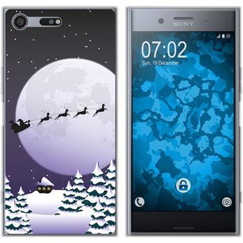 Sony Xperia XZ Premium Silicone Case Christmas X Mas M5