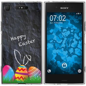 Sony Xperia XZ1 Silicone Case Easter M6