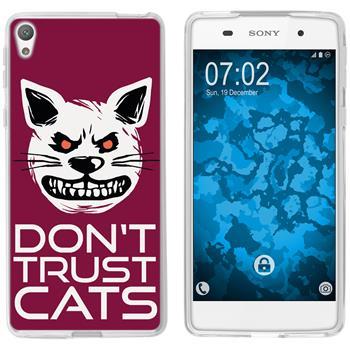 Sony Xperia E5 Silicone Case Crazy Animals M1