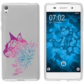 Sony Xperia E5 Silikon-Hülle Floral  M2-6