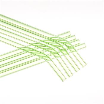 4 Pack Stainless Steel Straw Set - Reusable Metal Straws with Cleaning Brush and Bag, Rainbow