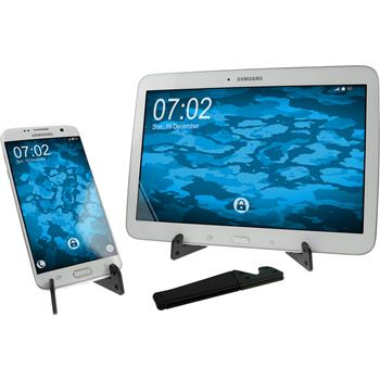 Universal Smartphone Ständer klappbar in Schwarz  Tablet/Smartphone Stand