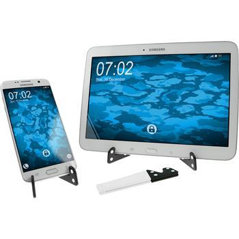 Universal Smartphone Ständer klappbar in Weiß  Tablet/Smartphone Stand