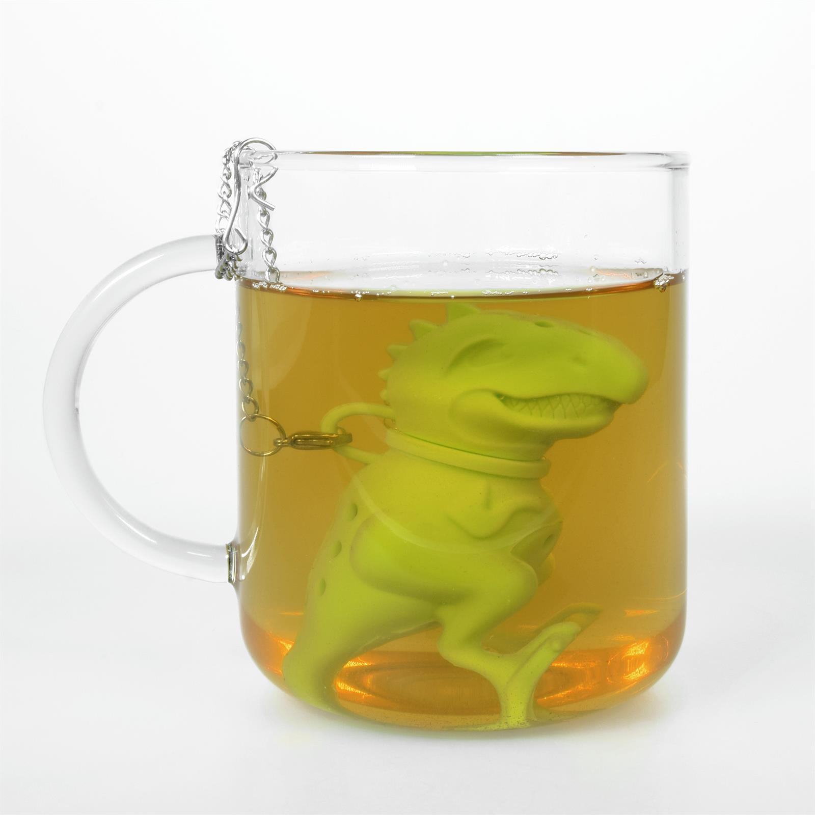 Lustiges niedliches buntes Silikon Tee Ei Sieb Kugel Filter Ball Figur loser Tee 9