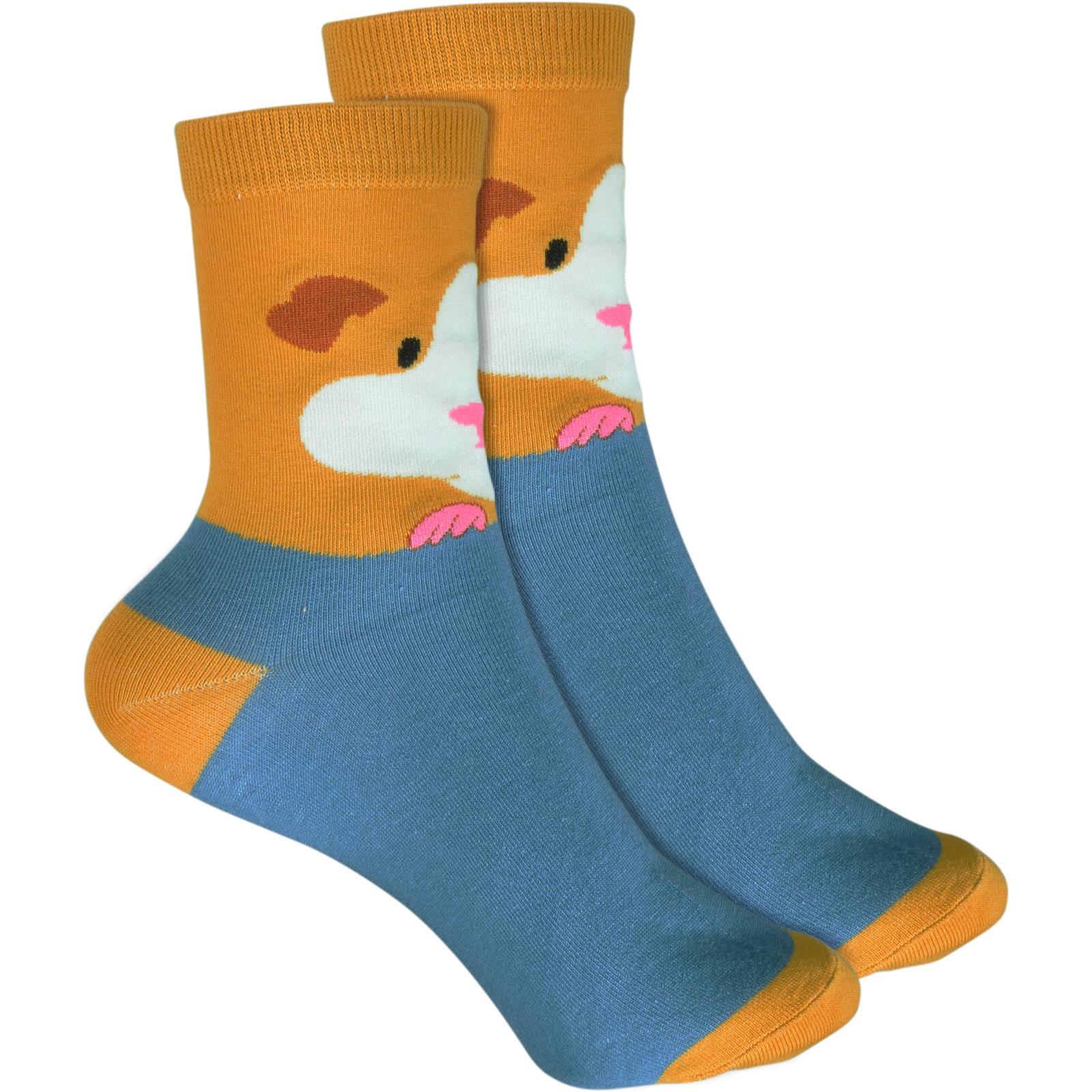 Meerschweinchen blau cosey dünne Socken 2 Paar Baumwolle atmungsaktiv 33-40