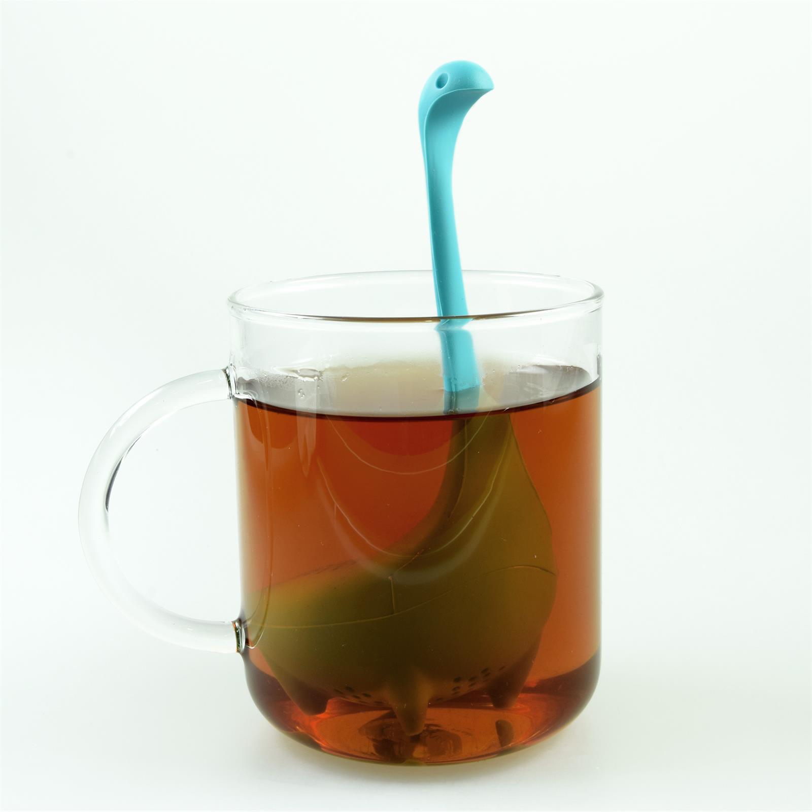 Lustiges niedliches buntes Silikon Tee Ei Sieb Kugel Filter Ball Figur loser Tee 3