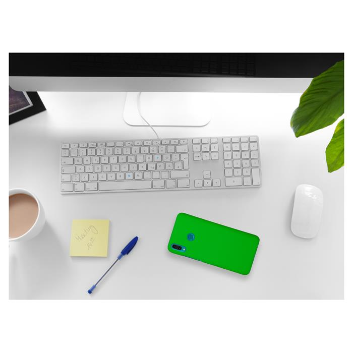 Details about Case for Huawei Y9 (2019) Hardcover rubberized green Cover