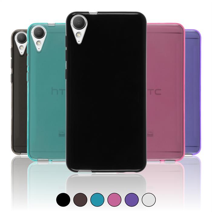 check out 2d0a3 7929b Details about Case for HTC Desire 10 Lifestyle TPU Cover transparent +  protective foils